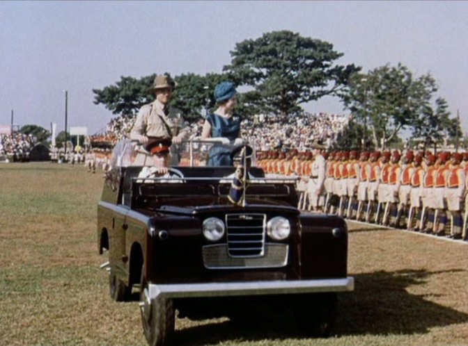 1958 Land-Rover 88'' Series II Royal Review State II