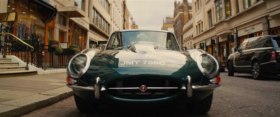 """Jaguar E Type >> IMCDb.org: 1964 Jaguar E-Type 4.2 FHC Series I in """"Kingsman: The Golden Circle, 2017"""""""