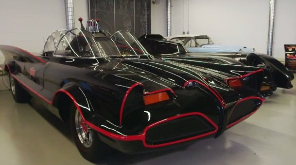 1966 Lincoln Futura Batmobile Barris Kustoms