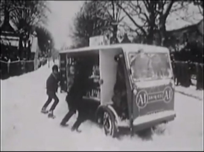 1954 Morrison-Electricar ED25 Milk Float