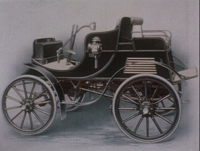 1900 Albion A2 'Dog cart'