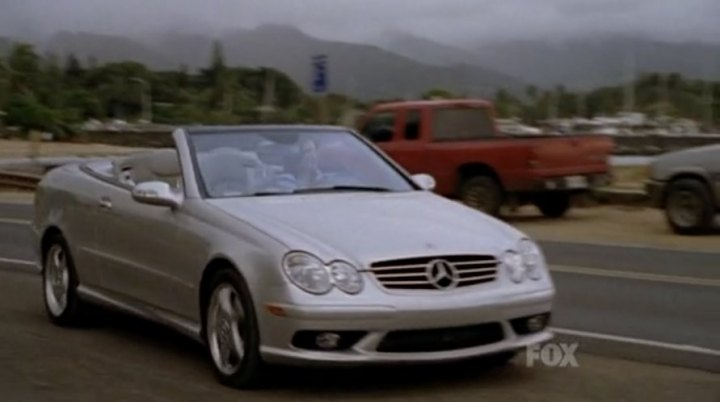 2004 Mercedes-Benz CLK 500 [A209]