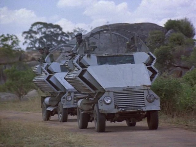 1977 Morewear Engineering Kudu 4x4 Mine Protected Armored Personnel Carrier