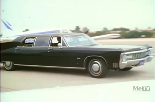 1971 Imperial LeBaron Limousine Armbruster/Stageway modified
