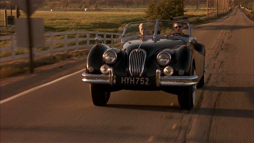 jaguar 1956 cars xk roadster replica imcdb cruel intentions cinema vehicle exude classiness convertible 1999