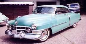 1950 cadillac coupe deville 6237d in the majestic 2001. Black Bedroom Furniture Sets. Home Design Ideas