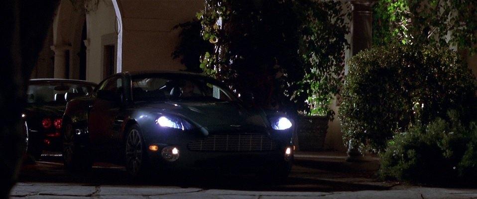 """IMCDb.org: 2002 Aston Martin Vanquish in """"The Italian Job ..."""