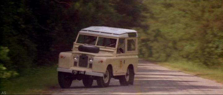 1961 Land-Rover 88'' Series IIa Station Wagon