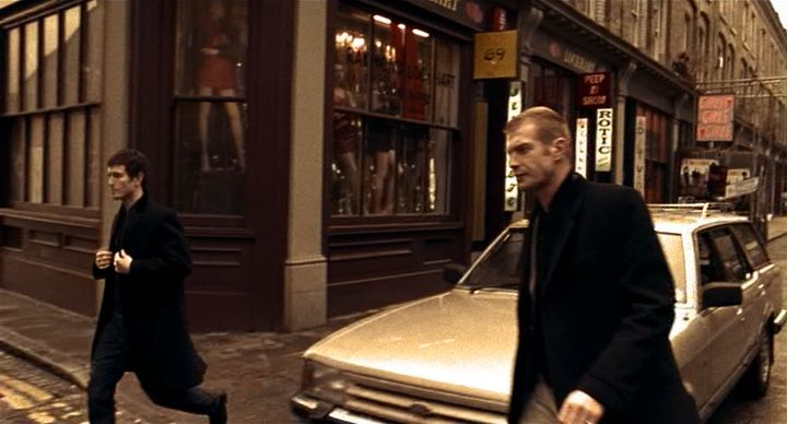 1984 Ford Granada Estate MkII in Lock Stock and Two Smoking Barrels Movie