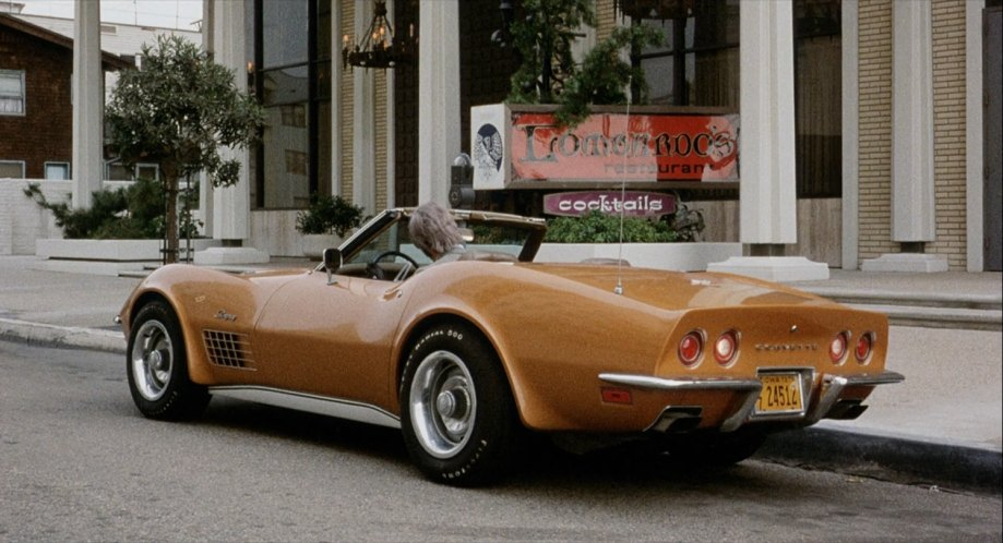 Chevrolet Corvette Stingray Convertible. 1972 Chevrolet Corvette