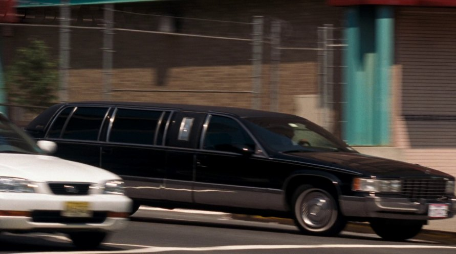1993 Cadillac Fleetwood Stretched Limousine Superior Six-Door 62''