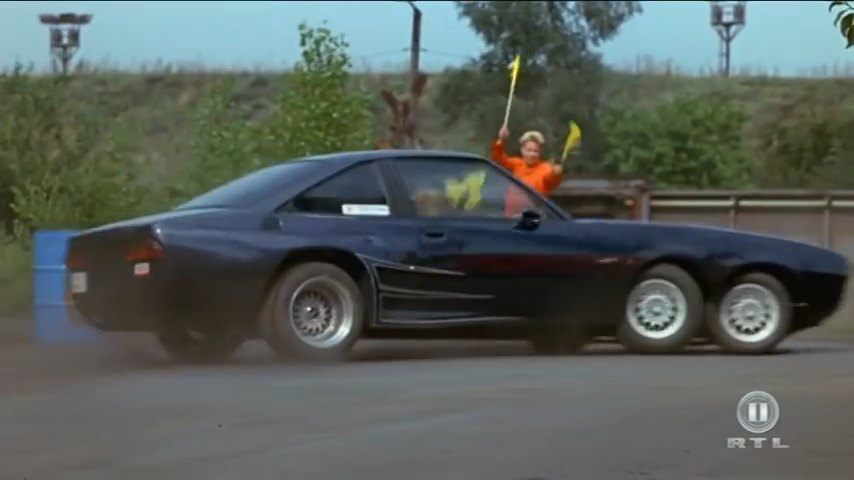 Imcdb Org Opel Manta 6 Wheels B In Quot Manta Der Film 1991 Quot