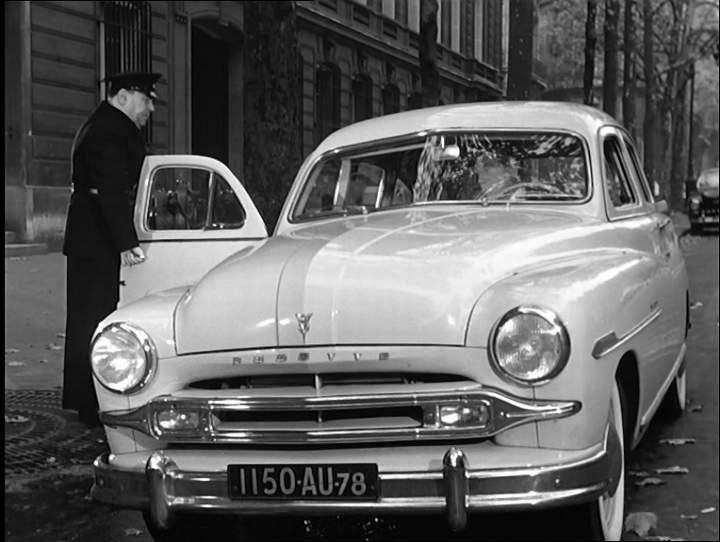 1953 ford vedette dans touchez pas au grisbi 1954. Black Bedroom Furniture Sets. Home Design Ideas