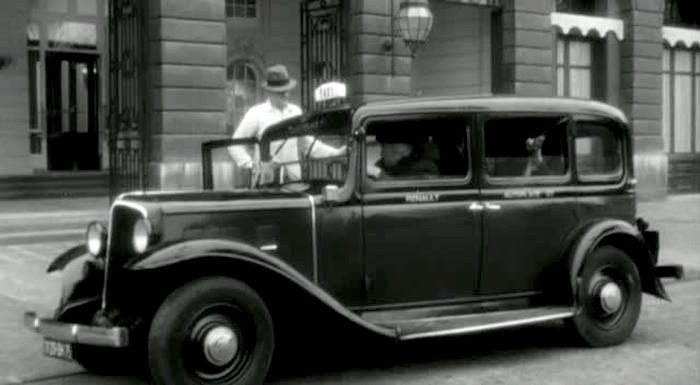 1933 renault taxi g7 type kz11 in love in the afternoon 1957. Black Bedroom Furniture Sets. Home Design Ideas