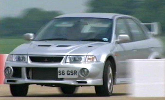 IMCDb.org: 1999 Mitsubishi Lancer Evolution VI GSR in