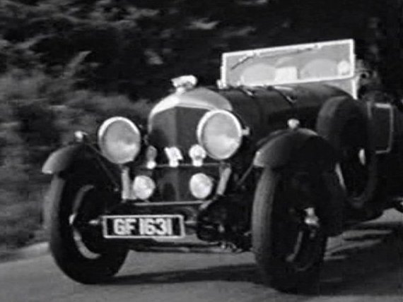1927 Bentley 4½ Litre Townshend and Phillips [ST3011]