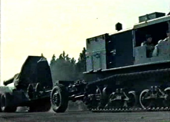1942 Allis-Chalmers M4 High-Speed Artillery Tractor
