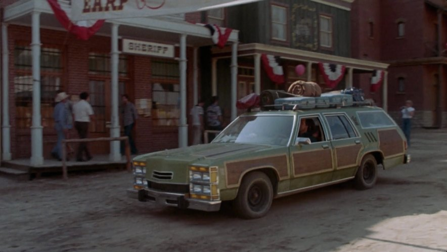 Imcdb Org 1980 Ford Ltd Country Squire Wagon Queen