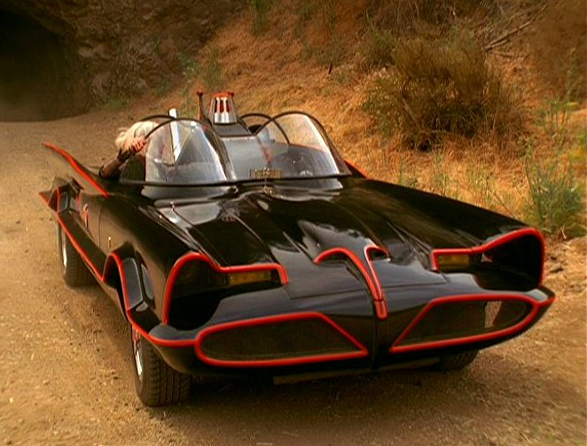 1955 Lincoln Futura Batmobile Barris Kustoms
