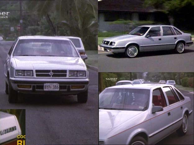 """Used Dodge Magnum >> IMCDb.org: 1985 Dodge Lancer in """"Magnum, P.I., 1980-1988"""""""