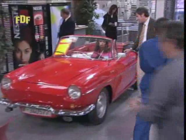 1963 Renault Caravelle 1100 Cabriolet Export [R1133]