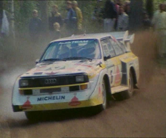 1985 Audi Sport Quattro S1 1000 Lakes Rally B2 [Typ 85Q]
