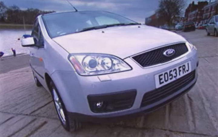 2004 ford focus c max zetec c214 in top gear 2002 2015. Black Bedroom Furniture Sets. Home Design Ideas