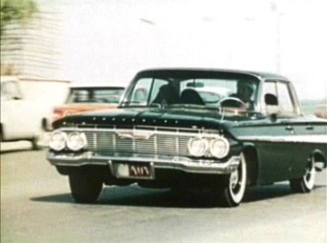 Imcdb Org 1961 Chevrolet Impala Four Door Hardtop In Quot Le