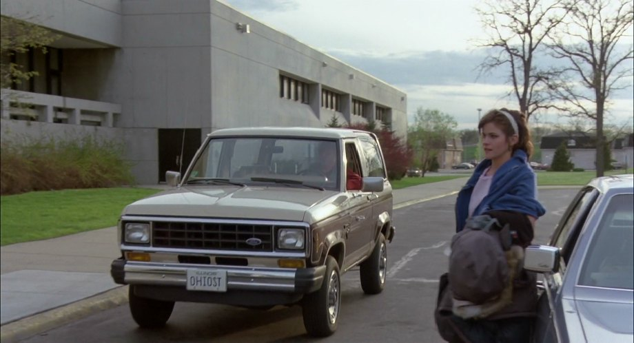 1984 Ford Bronco II in The Breakfast Club, Movie, 1985
