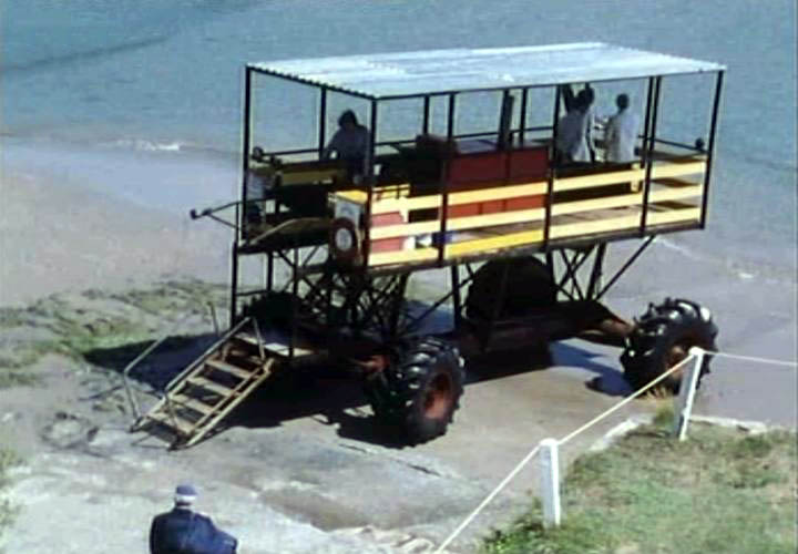1969 Burgh Island Sea Tractor By Beare and Sons Series III
