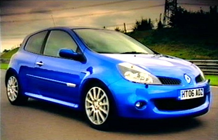 2006 renault clio sport 196 3 x85 in fifth gear 2002 2015. Black Bedroom Furniture Sets. Home Design Ideas