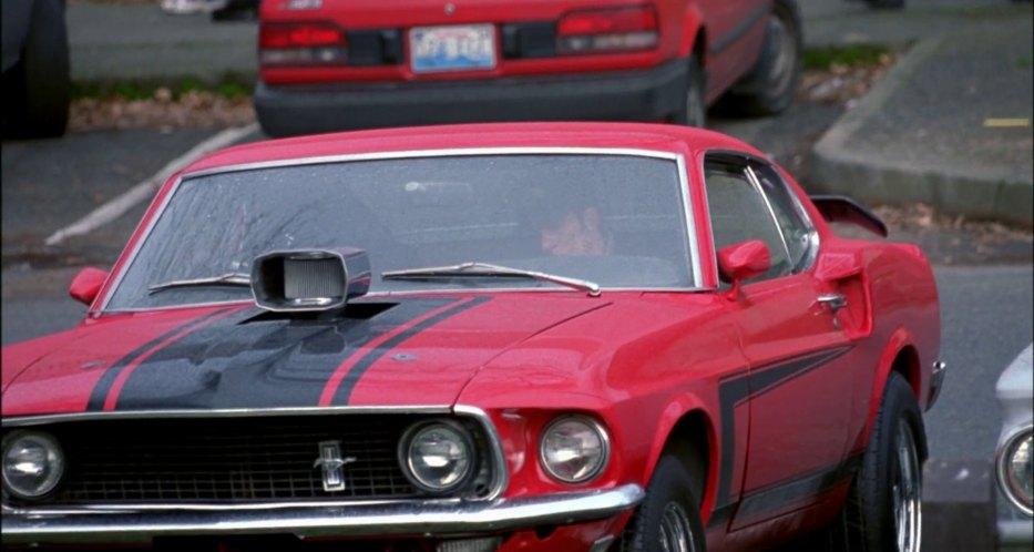 """Mustang Hood Scoop >> IMCDb.org: 1969 Ford Mustang Sportsroof in """"Disturbing ..."""