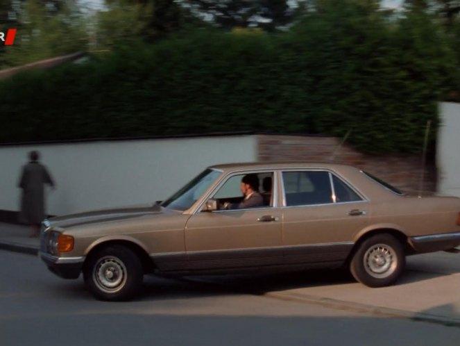 1980 mercedes benz 280 se w126 in tatort. Black Bedroom Furniture Sets. Home Design Ideas