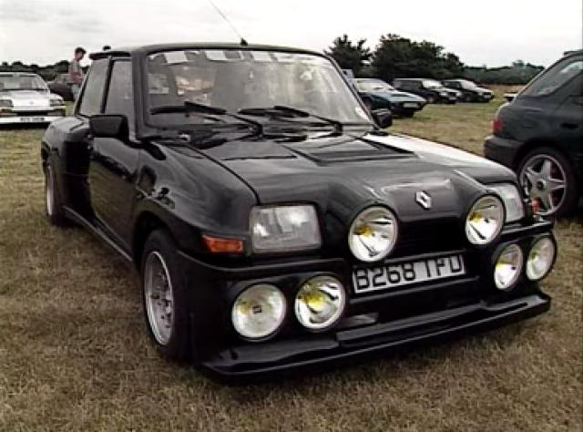 1985 renault maxi 5 turbo in too fast to race 1997. Black Bedroom Furniture Sets. Home Design Ideas