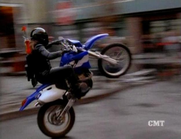 1998 yamaha wr 400 f in the dukes of hazzard. Black Bedroom Furniture Sets. Home Design Ideas