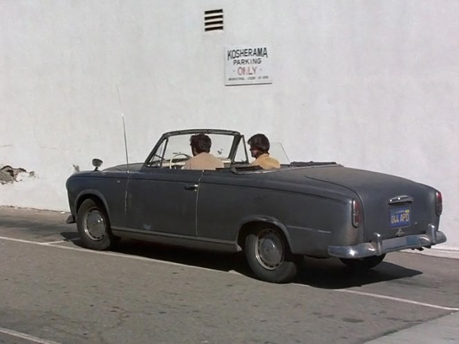 1960 peugeot 403 cabriolet in columbo the most dangerous match 1973. Black Bedroom Furniture Sets. Home Design Ideas