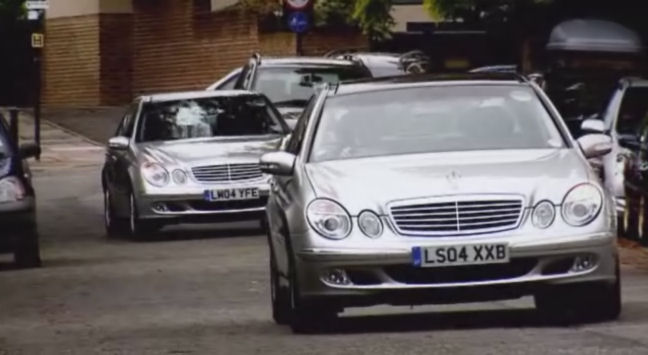 2004 mercedes benz e 220 cdi elegance w211 in the apprentice 2005 2018. Black Bedroom Furniture Sets. Home Design Ideas