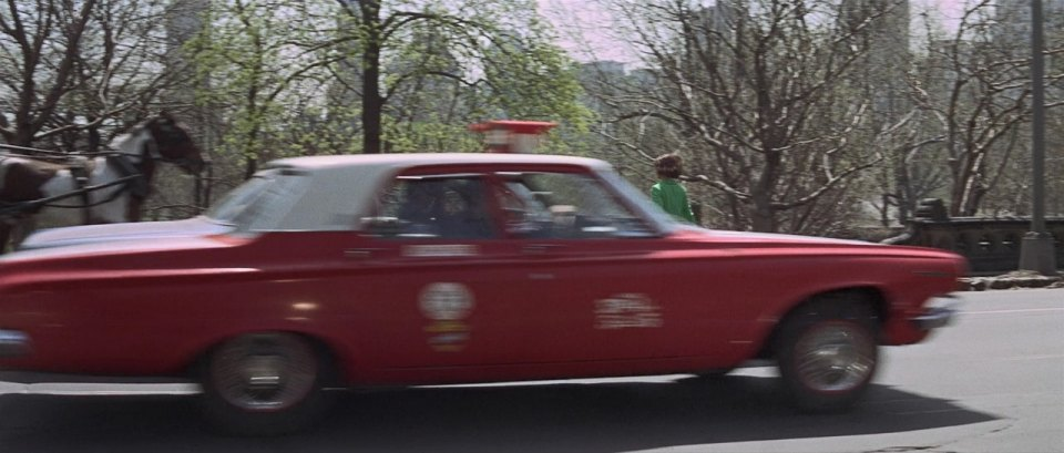 1963 Dodge 330 taxi