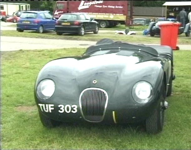 1954 Jaguar C-Type replica based on XK140
