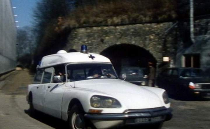 1972 Citroën DS 20 Ambulance Currus