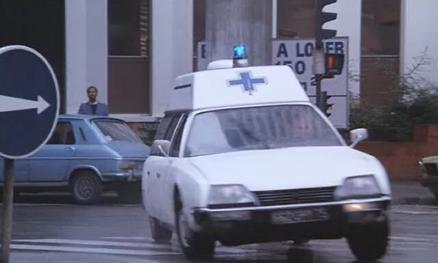 1978 Citroën CX Ambulance AN 78 2500 D Collet Série 1