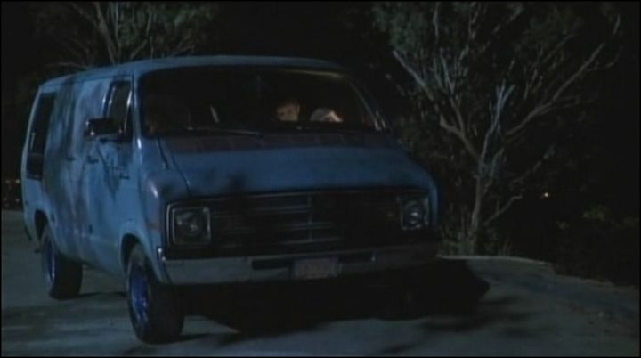 "IMCDb.org: 1974 Dodge Tradesman [B-Series] in ""Buffy the Vampire Slayer, 1992"""