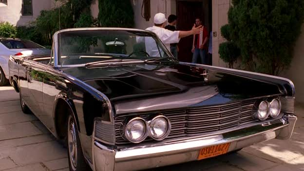 1965 lincoln continental in entourage 2004 2011