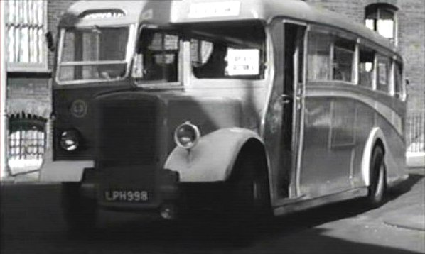 1947 Leyland Tiger PS1 Duple body