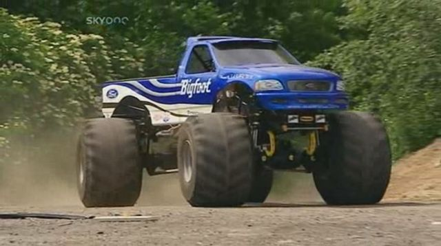 Custom Made Monster Truck Bodied as an F-150