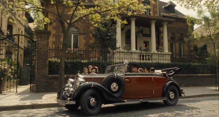 230 lang cabriolet b w143 in the boy in the striped pyjamas 2008