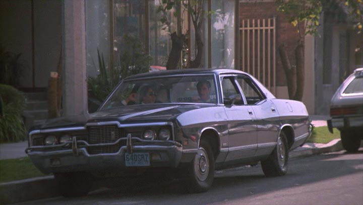 1971 ford galaxie 500 in the falcon and the snowman 1985. Black Bedroom Furniture Sets. Home Design Ideas
