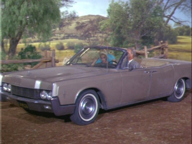 1966 Lincoln Continental Convertible [74A]