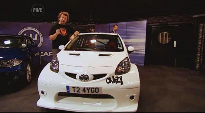 Toyota Aygo White. 2008 Toyota Aygo Crazy Concept