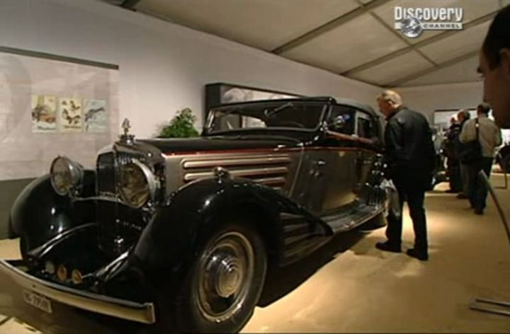 1937 Maybach DS8 V12 'Zeppelin'